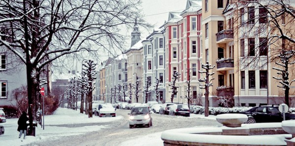 Frogner in the winter (Photo: Anna Pavyluc)